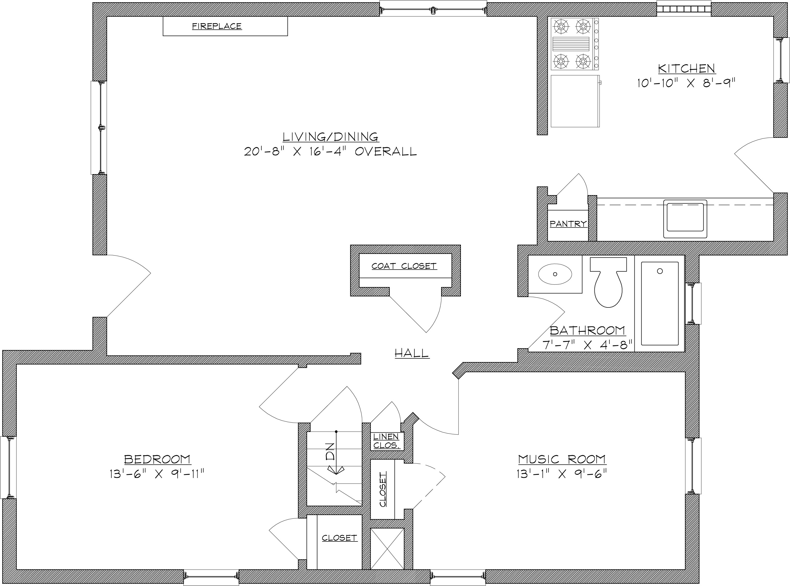 house plans furniture