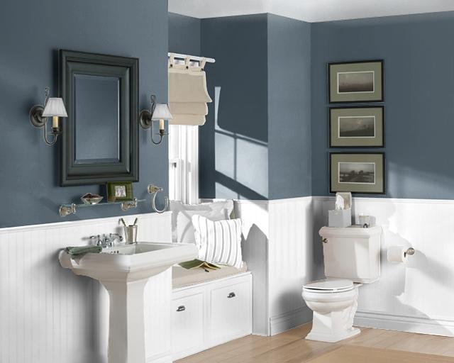 Bathroom living analog for Southwest bathroom paint colors