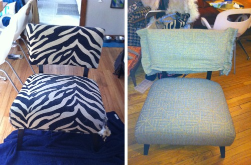 UPHOLSTER SOMETHING RECAP