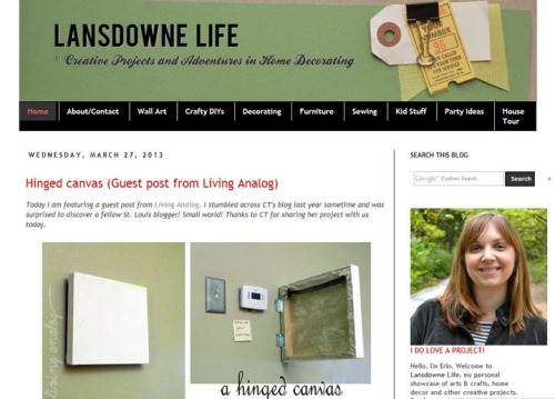 LANSDOWNE LIFE FEATURE