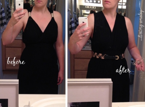 BLACK DRESS MAKEOVER