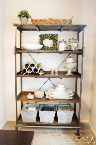 JDC DINING ROOM SHELVES